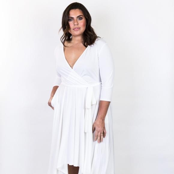 Plus Size 'Goddess' High Low Dress Boutique